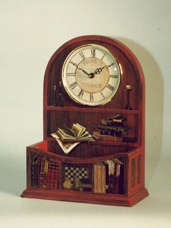 Hand-painted clock