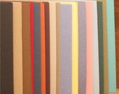 Cardstock 5x5 170 pieces, 17 colors, 2 cents each