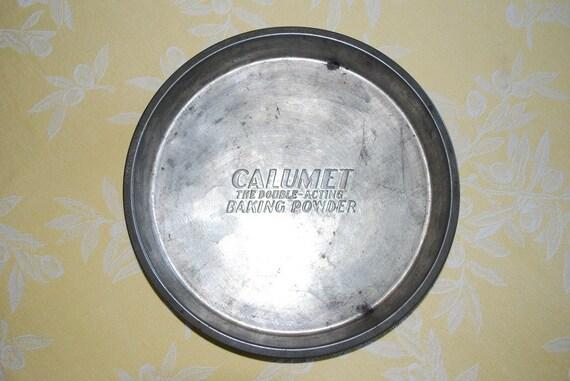 Vintage Calumet Baking Powder Cake Pan