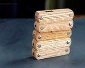 Snap Pipe - Reclaimed oak