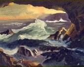 High Tide Seascape