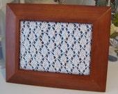 Diamond Knit Jewelry Display Frame