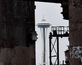 Space Needle from Gasworks 8x10 Fine Art Print