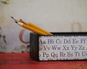 School Supplies - Vintage Learning Curve Pencil box