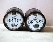 Bride And Groom Ring Boxes, Wedding Ring Boxes, Wooden Ring Box, Ring Bearer Box, Wedding, Ring bearer Box, Ring Holder