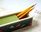 Paper Plane Pencil Box