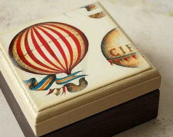 Hot Air Balloon Themed Wedding Birthday Party Vintage inspired circus children Party Favor