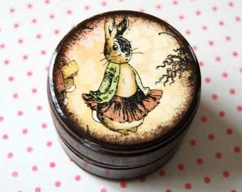The Tale Of Peter Cotton Tail Powder Box