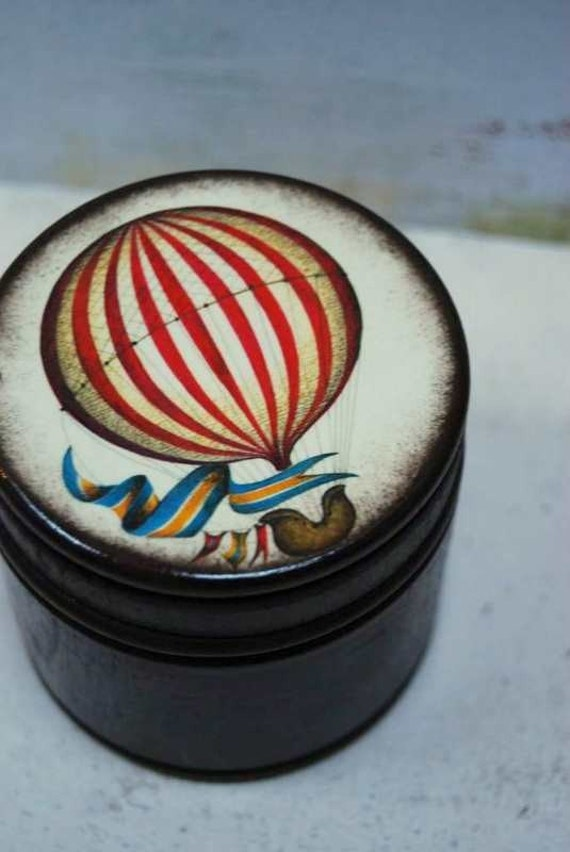 Float Away With Me - Hot Air Balloon Box