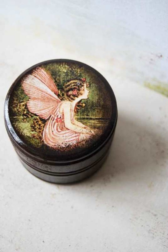 Lovely Forest Fairy Powder Box