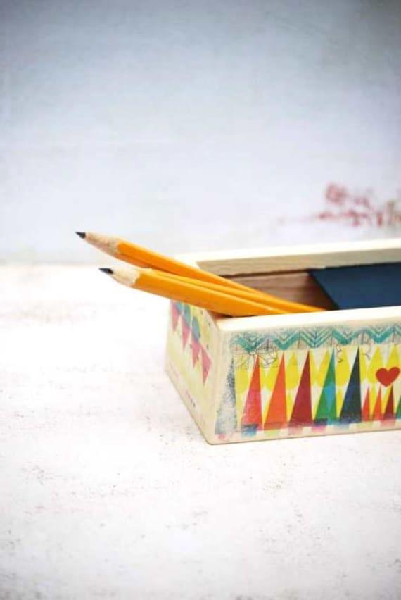 Geometric Art  Pencil Box