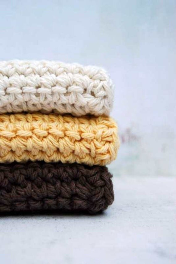 Dandelion  Wash Cloths - Natural wash cloths
