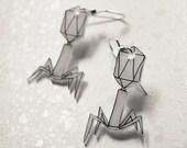 Viral Bacteriophage Earrings