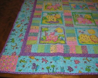 Adorable Animal Quilt for Baby or Child