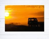 Photograph of Kenya Sunset Back to Camp