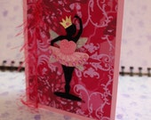 Ballerina gretting card, Happy Birthday, Grand daughter, Child, Sister, Niece, Daughter, student, teacher