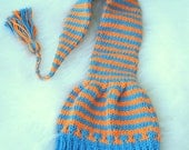 Pixie elf hat made cotton. Newborn 3 months. Munchkins Hat  cord and tassel ready to ship from Colorado. Perfect photo prop.Florida Gators
