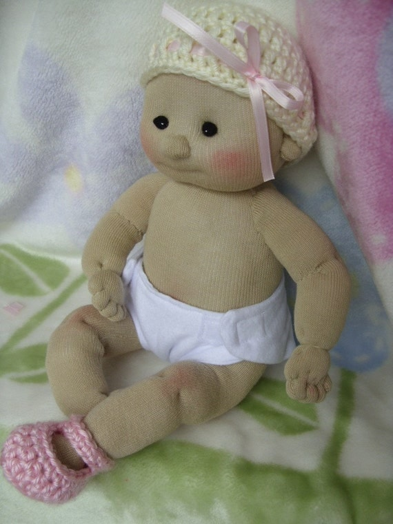 Sock Baby Doll Made From Socks Lali Doll