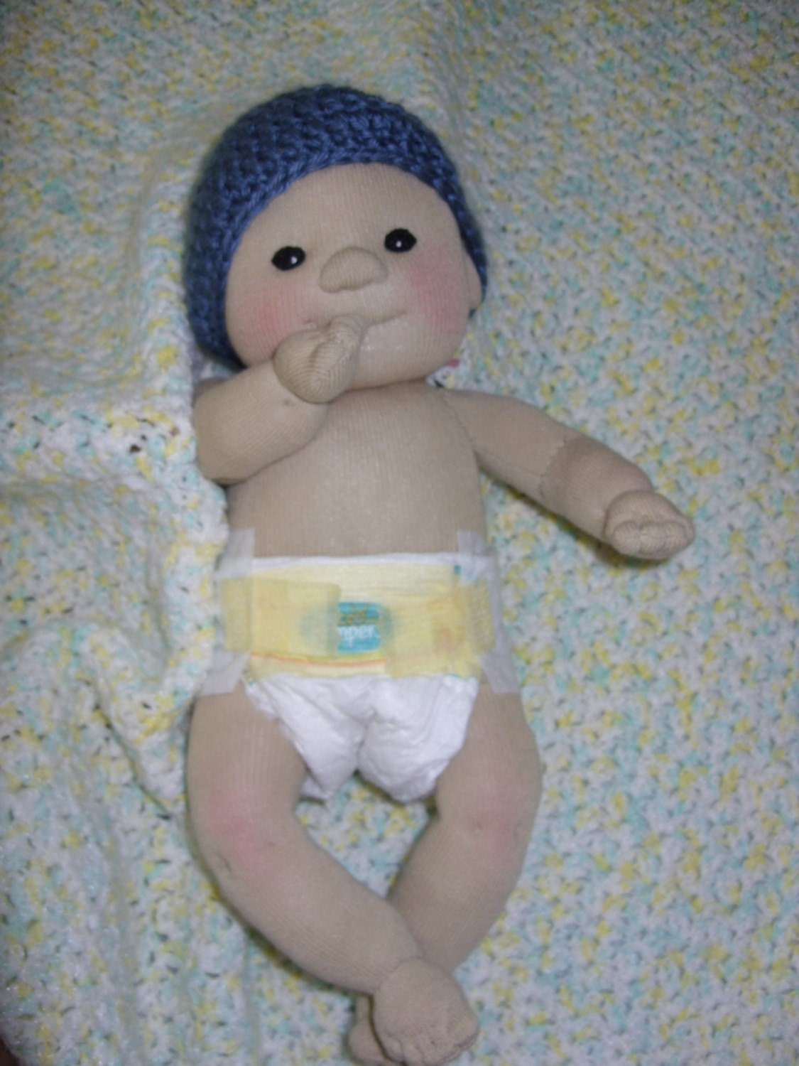 Sock Baby Doll Lid l Man Lali Doll