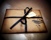 Packaging kit, vintage antique, shabby chic. Bird (10)
