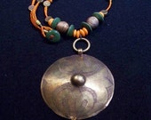 Antique Afghan Pendant Necklace   FREE SHIPPING WORLDWIDE