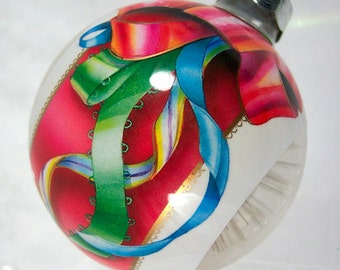 Christmas Ornament Vintage 1984 Hallmark Holiday Starburst