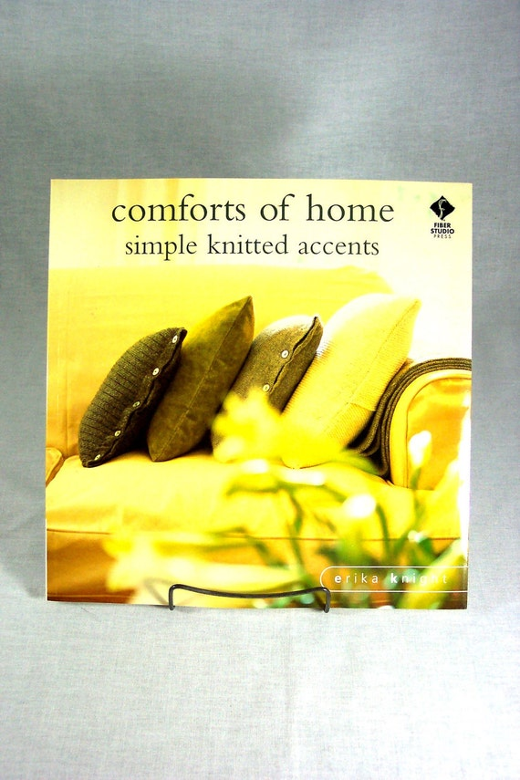 """Knitting Book """"Comforts of Home"""""""