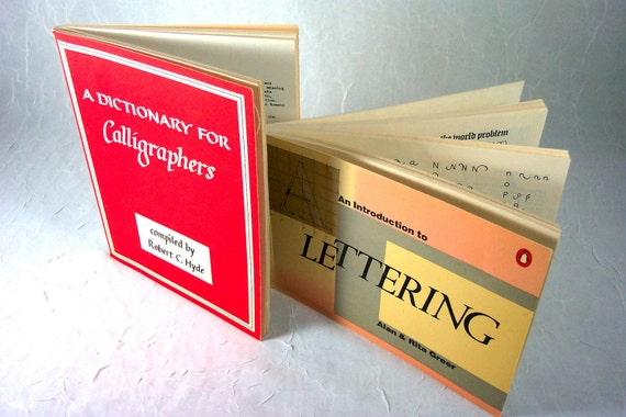 Books for Beginning Calligraphers or Letterers