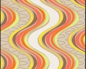 Zesty Serpentine fabric by Art Gallery Fabrics // fat quarter to yardage // modern and fresh