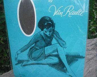 Vintage Van Raalte Hose, Unopened 1960s Van Raalte Queen Size Panty Hose, NOS, Vintage Hosiery