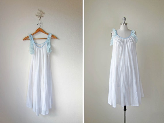 50s Nightdress/ Lingerie/  Iced Pettifore