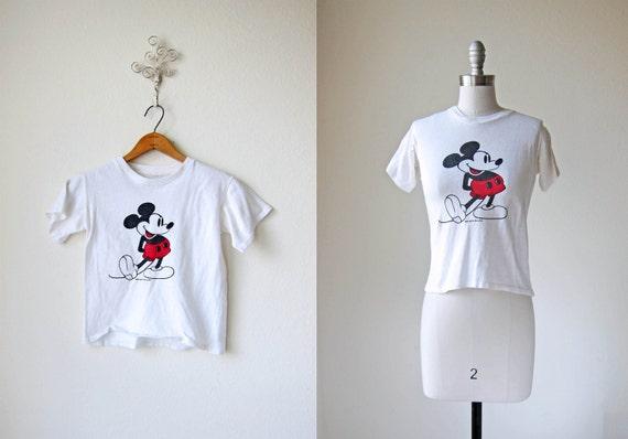 70s T-shirt/ Disney/ Hey Mickey