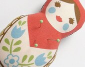 Pincushion- Cute Matryoshka Doll