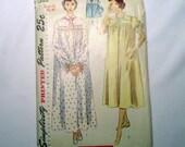 Vintage Nightgown/Bed Jacket Pattern