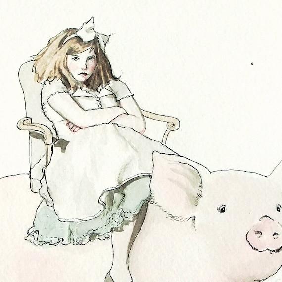 Piggyback Ride -- signed (8x10) Art Print