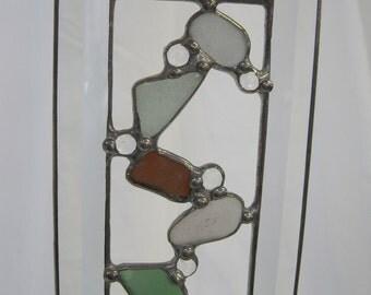 Bevelled Sea Glass Suncatcher
