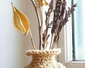 Jute Dry Vase