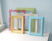 Sugary Sweet Upcycled Wall Frame Collection