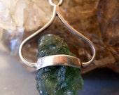 New Moldavite Meteorite Pendant Spiritual Awakening