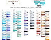 Copic Sketch Markers PICK YOUR OWN 12 Colors Includes  2 Free