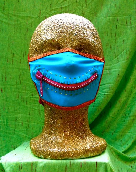Sparkleface zipper mask