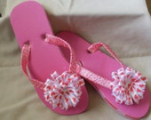 Valentine's Hearts Flip Flops