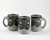 Three El Palomar Mugs - Ken Edwards