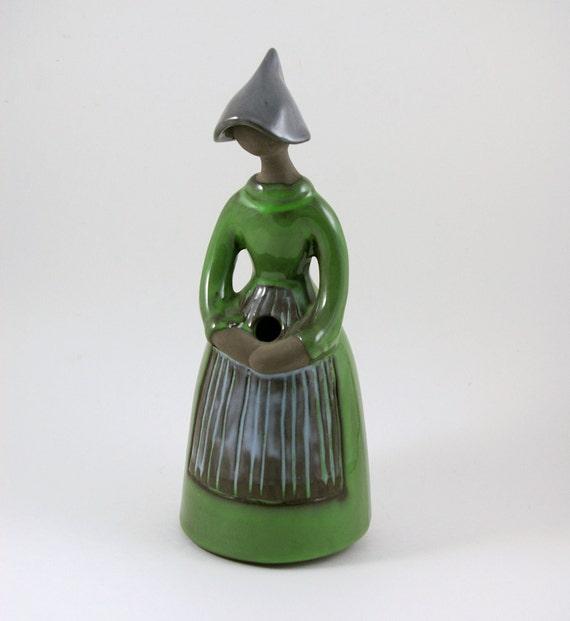JIE Gantofta of Sweden Elsi Bourelius Flower Holder Girl Vase