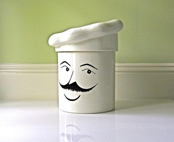 Vintage Chef Cookie Jar