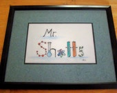 Handpainted Children's / Teacher's Name Sign / Picture