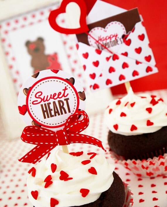 SALE - My Sweetheart Valentine Party Collection including Exclusive Valentine's Prints