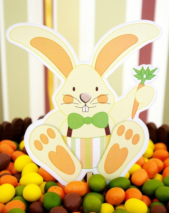 HALF PRICE - Easter Bunny Egg Hunt Complete Printable Party Collection