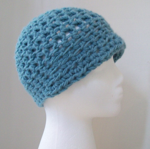 Blue Flapper Hat READY TO SHIP