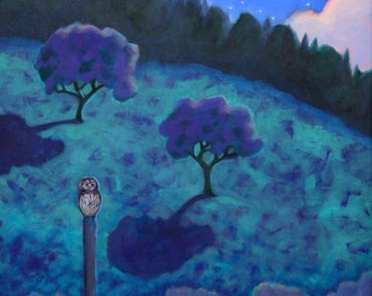 Under the Orchard Moon, Owl by the Pond, Twinkle Stars, Fog Over Water